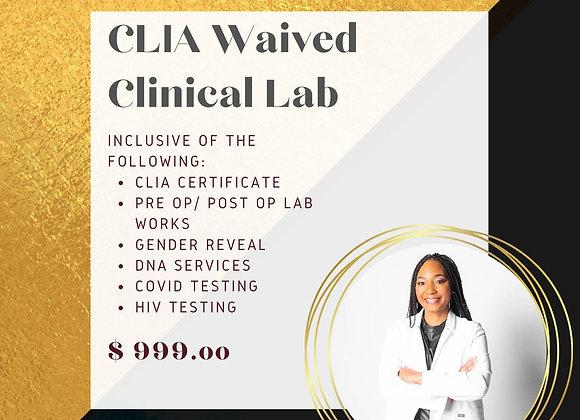 CLIA Waived Clinical Lab