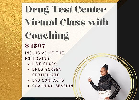 Drug Test Center Class + Coach