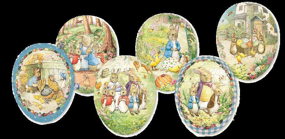 Påskägg - Beatrix Potter