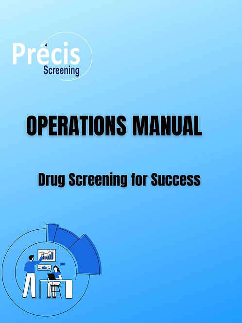 Operations Manual and attachments