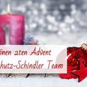 Weihnachtliche Grüße vom gesamten Brandschutz-Schindler Team !
