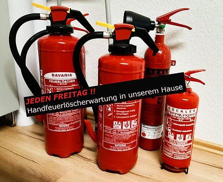 Feuerlöscher Wartung, Prüfung und Vertrieb