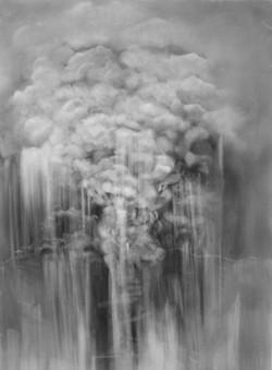 Remnants of an ash cloud
