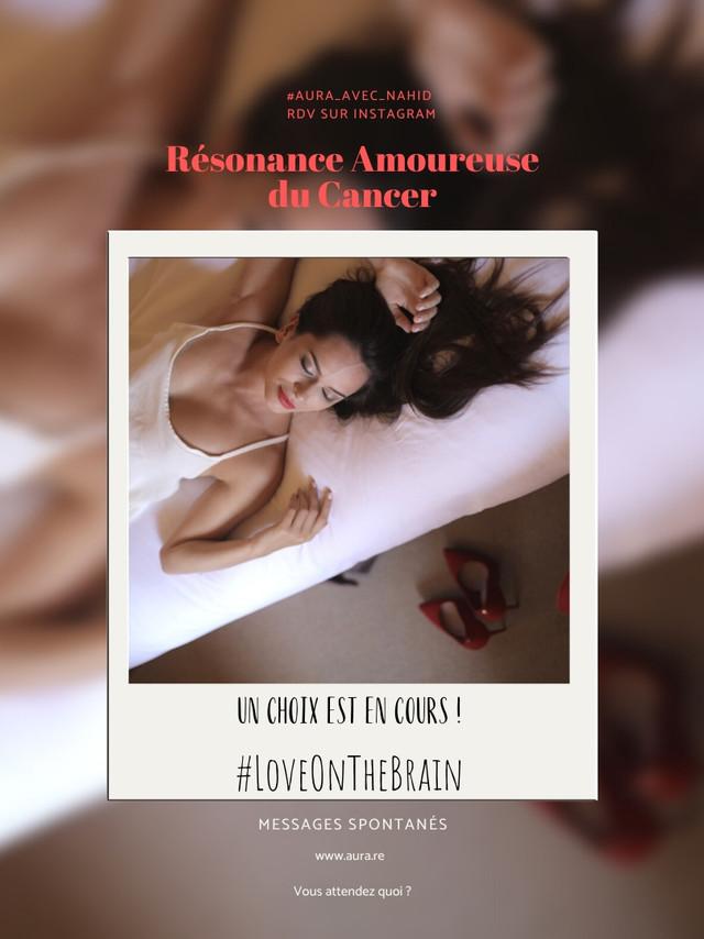 Cancer Resonance Amoureuse Novembre 2019