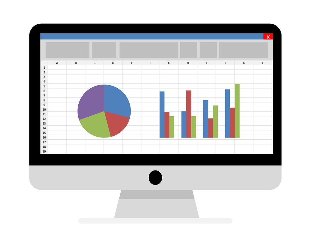 Excel reporting tableur