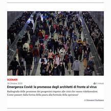 Emergenza Covid: le promesse degli architetti di fronte al virus