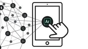 Interactive architectural board with Adobe Aero