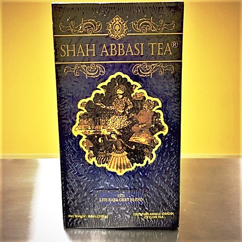 Shah Abbasi 1571 Single-Origin Lite Earl Grey Loose Leaf Tea (Net Weight 250 g)