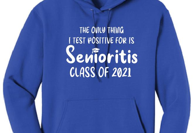 Senior 2021-Royal Sweatshirt