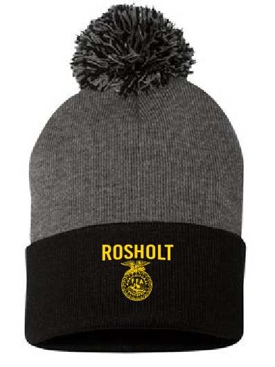 RFFA Sportsman SP15 Dark Heather and Black Beanie