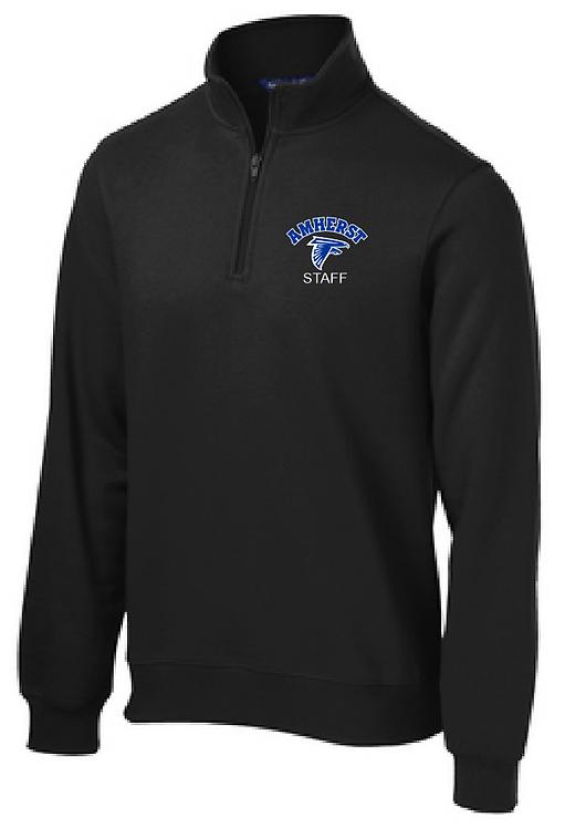 AS Sport-Tek ST253 1/4 Zip Sweatshirt (Black)