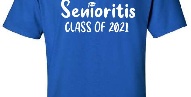 Senior 2021-Royal T-Shirt