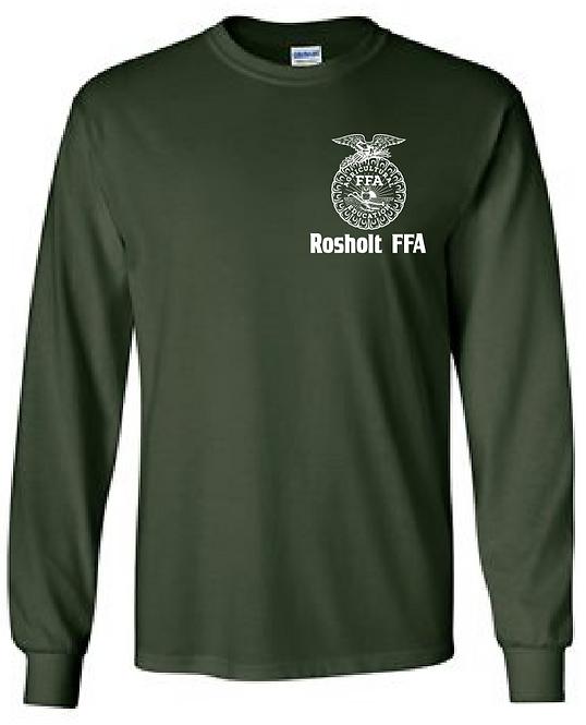 RFFA Gildan 2400 Ultra Cotton Longsleeve T-Shirt(Forest)