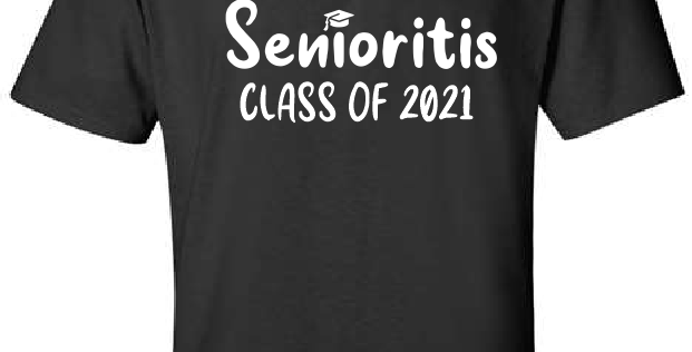 Senior 2021-Black T-Shirt