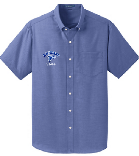 AS Port Authority S659 Short Sleeve Oxford Shirt (Navy)