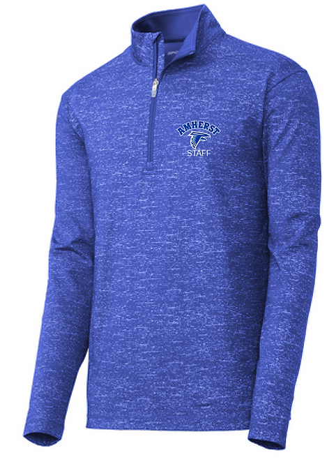AS Sport-Tek ST855 Sport-Wick Stretch Reflective Heather 1/2-Zip Pullover