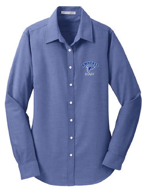 AS Port Authority L658 Ladies SuperPro Oxford Shirt(Navy)