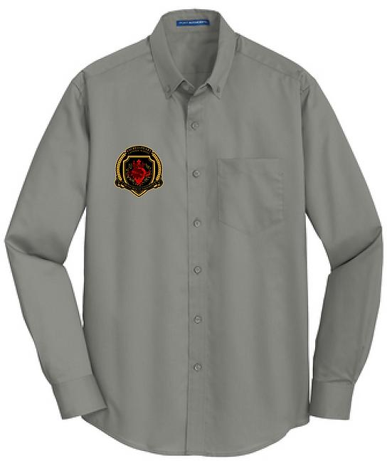 SH Port Authority S663- SuperPro Twill Shirt(Monumental Gray)