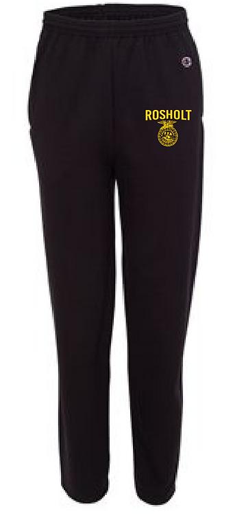 RFFA Champion P800 Black Sweatpants