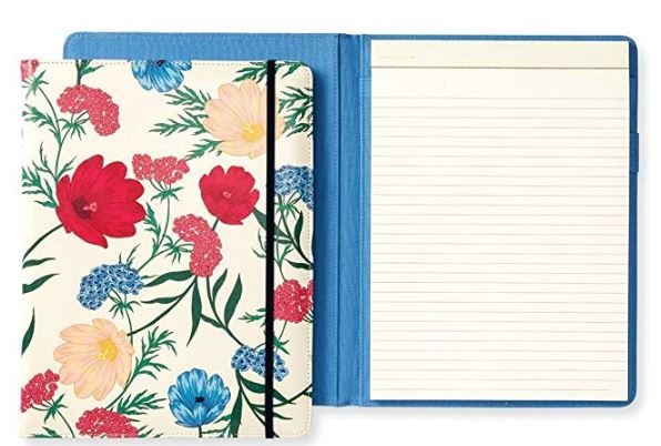 Floral notebook folio by Kate Spade