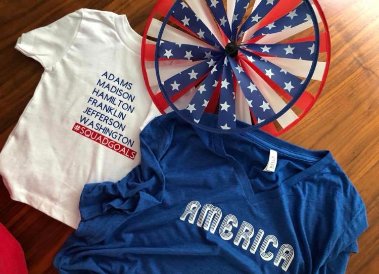 July shirts