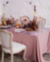 Décor de table de fête