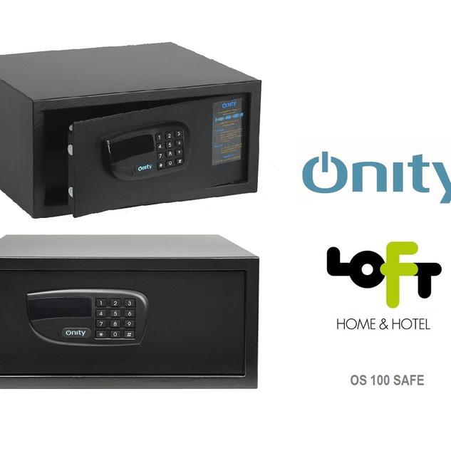 OS100 safe black Onity  χρηματοκιβώτιο G