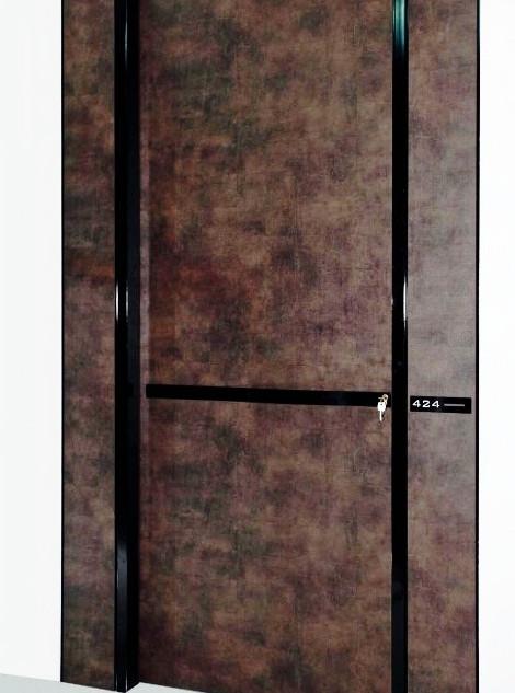 PT hotel door  bronze εσωτερικές πόρτες