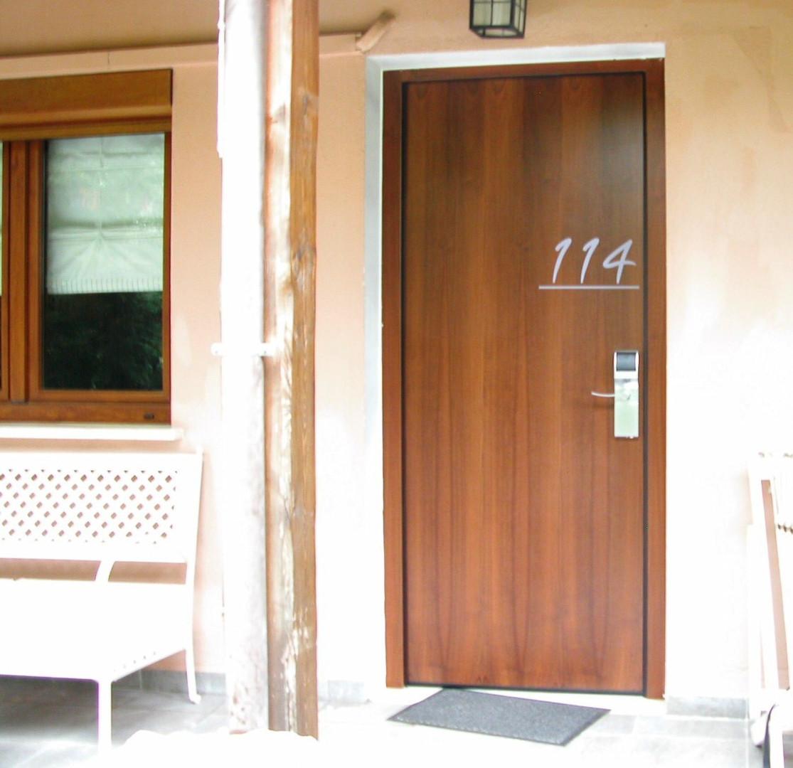 exterior bungalow door installation gree