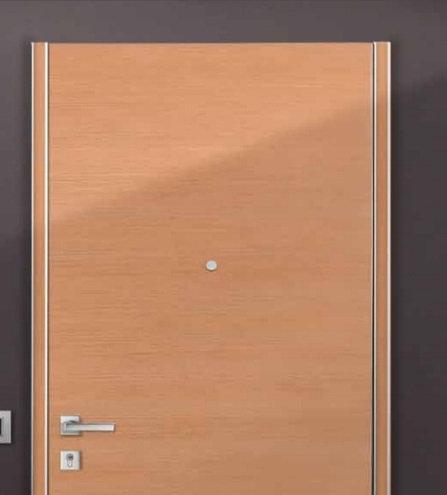 Πόρτα Ασφαλείας Κλάσης 3 Σειρά FLAT Silver C