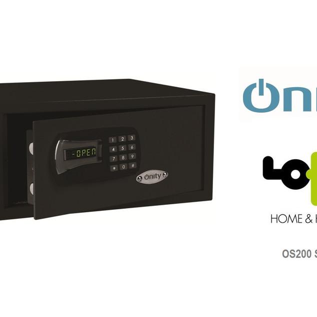 OS200 safe black  Onity χρηματοκιβώτιο