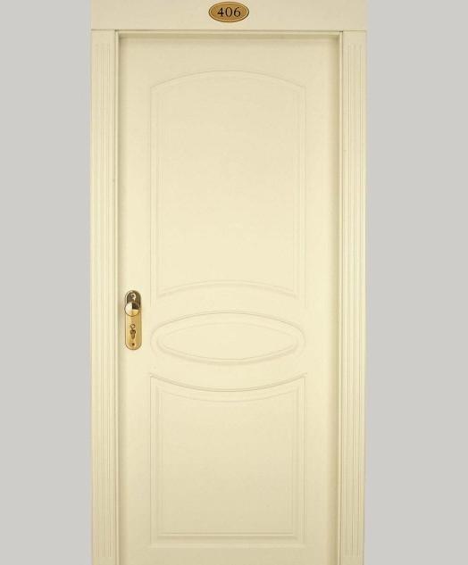 PT hotel door cream crown curves  εσωτερ
