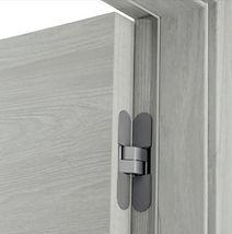 EG Revo Lavagna hinges frame detail door