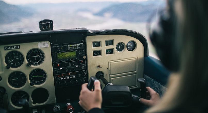 driving plane