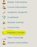 Request courses