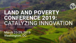 Land & Poverty Conference 2019
