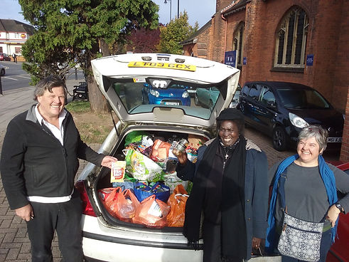 We support Enfield's Food Bank