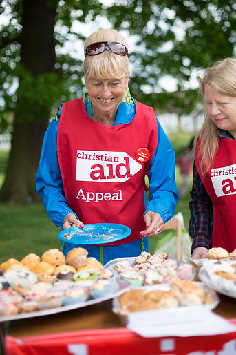 We support Christian Aid's week in May each year