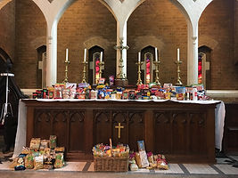 Photo - Harvest gifts at the Altar 2019