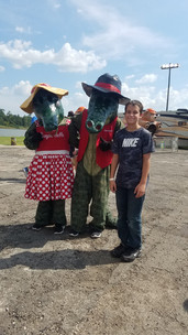 Hanging With the Local Celebrities (Photo by Natasha Lerette)