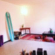 Living Room in our hostel in Tamraght.jp