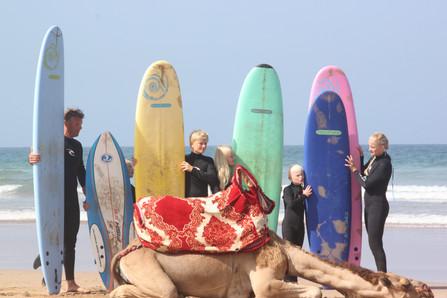 vacances de surf en famille au maroc, villa familiale de surf à Tamraght, Wave & Dance Maroc