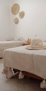 Chambre Lits Jumeaux avec Salle de Bains Commune Surf Hotel Tamraght, Wave & Dance Morocco