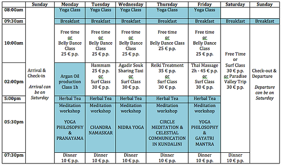 Yoga Retreat in Morocco - Weekly Schedule.png