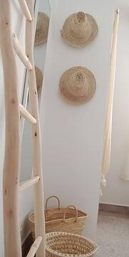 Twin Room with shared bath, surf house Tamraght, Wave & Dance Morocc