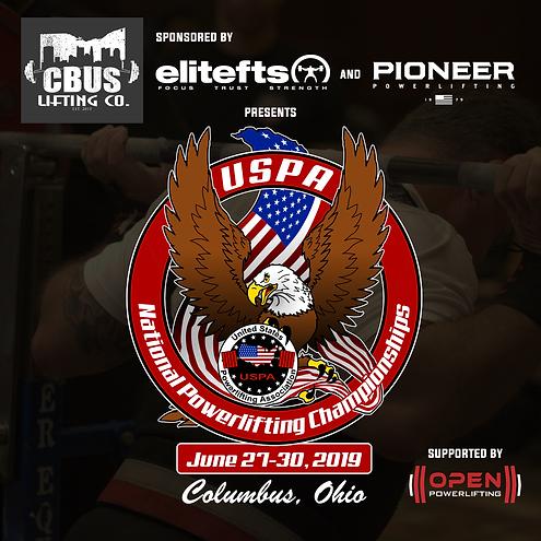 2019 USPA Nationals Sponsorship Announce