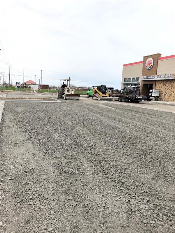 #gravel #prep #asphalt