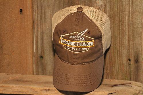Platinum Series Brown, Logo Mesh Cap