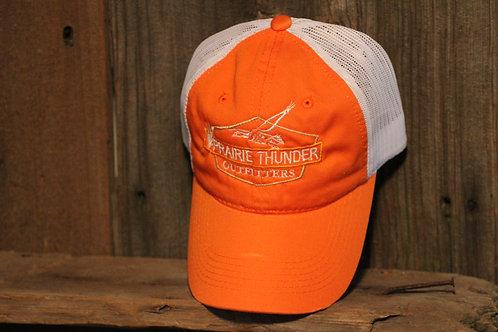Platinum Series Orange, Logo Mesh Cap