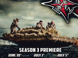 Prairie Thunder Outfitters and Avian-X TV July 28th on Pursuit Channel